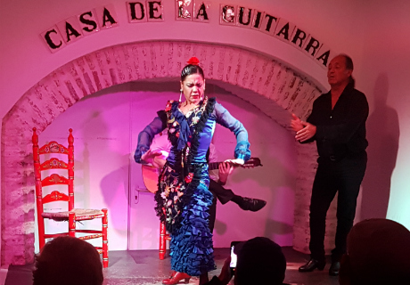 Casa de la guitarra sevilla espect culo flamenco en for Espectaculo flamenco seville sevilla