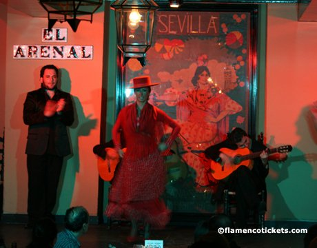 Tablao el arenal seville flamenco show in sevilla for Espectaculo flamenco seville sevilla